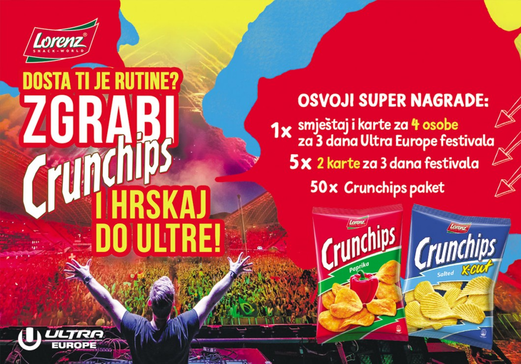 Zgrabi Crunchips i hrskaj do Ultre!